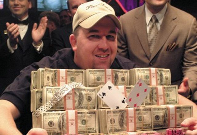 Chris Moneymaker, one of the most iconic World Series of Poker champions